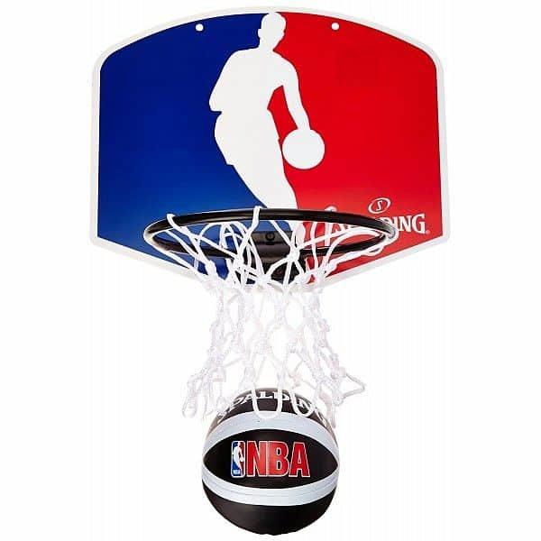 Basketbalový koš - Basketbalový koš Spalding Miniboard NBA Logoman