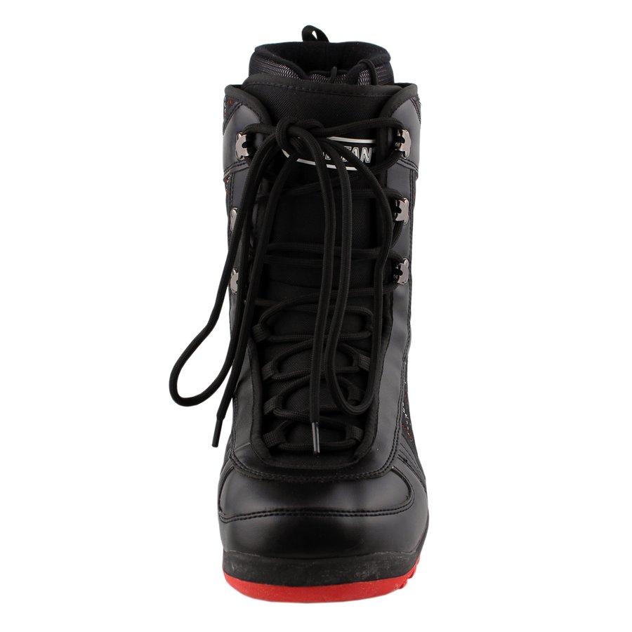 Černé boty na snowboard Spartan - velikost 36 EU