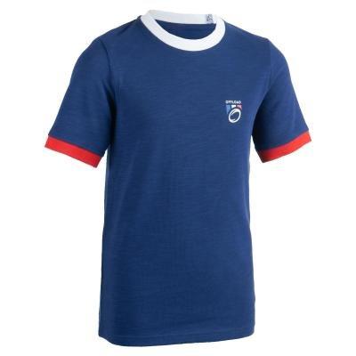 Modrý dětský ragbyový dres 2019, Offload - velikost 164