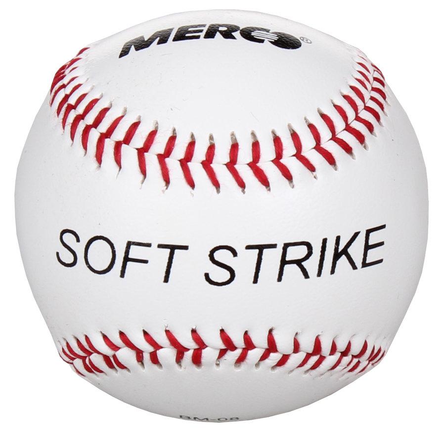 Bílý baseballový míček měkký Merco