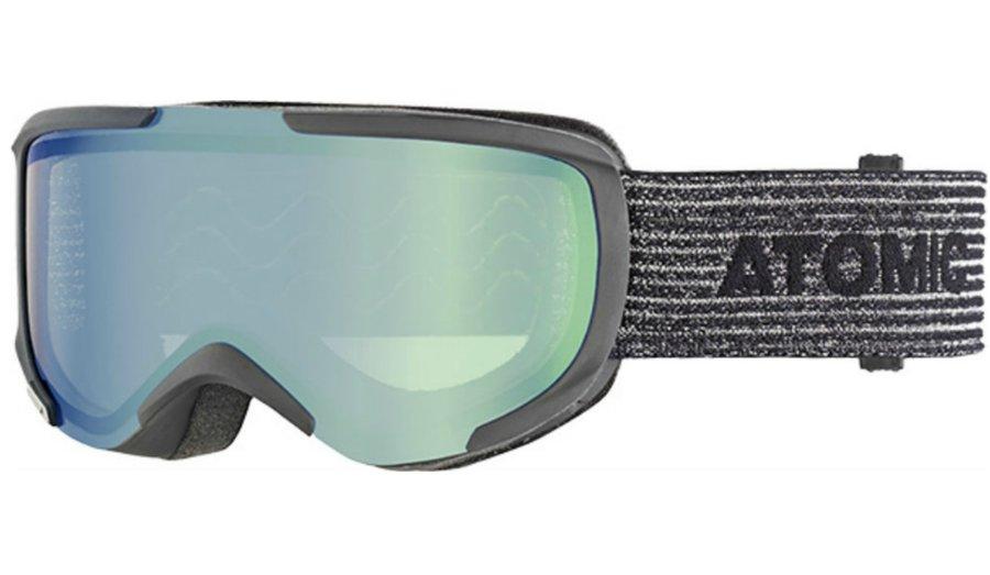 Černé lyžařské brýle Atomic