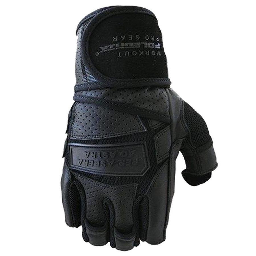 Černé fitness rukavice Polednik