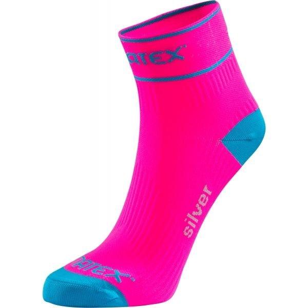 Modro-růžové ponožky Klimatex