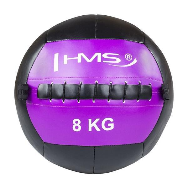 Medicinbal bez úchopů HMS - 8 kg