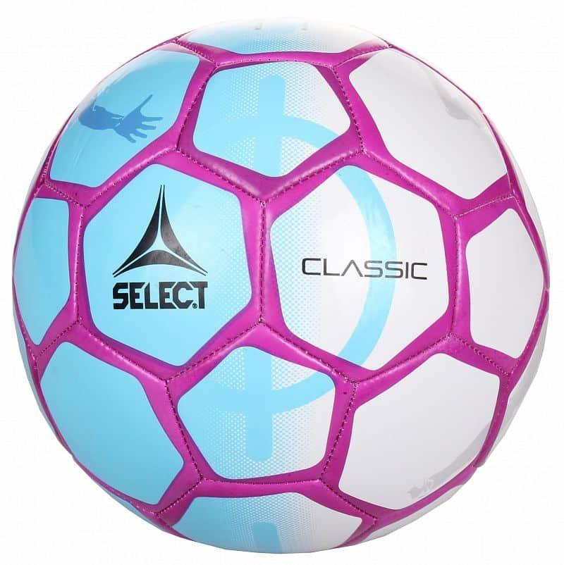 Fotbalový míč - FB Classic 2018 fotbalový míč č. 5;modrá-bílá