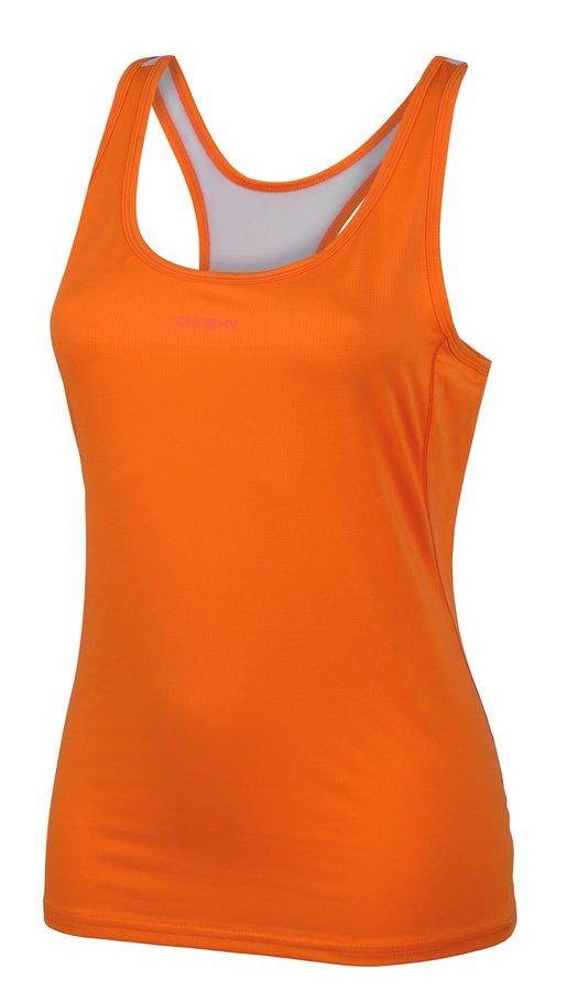 Oranžové dámské tílko Husky - velikost S