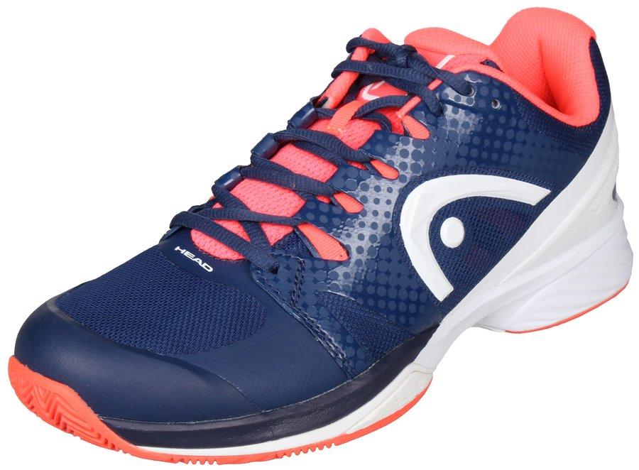 Modro-růžová dámská tenisová obuv Nzzzo Pro Clay, Head - velikost 38 EU