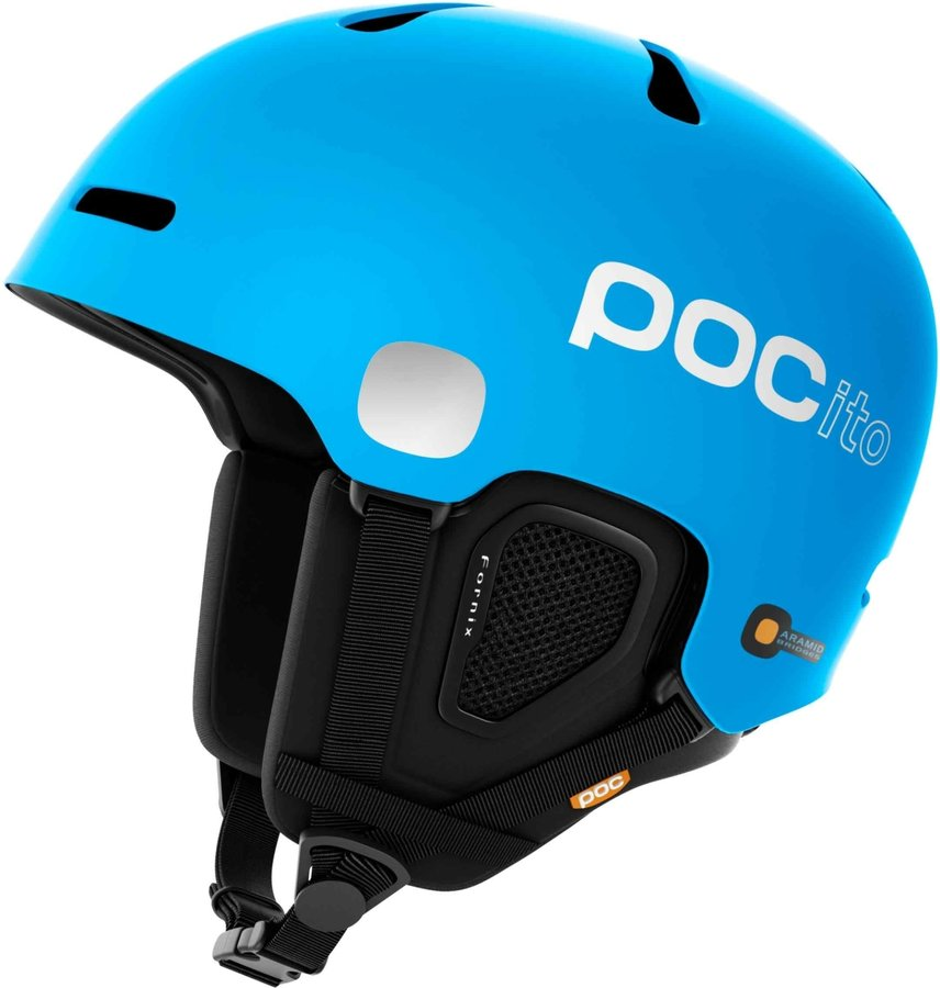 Modrá dětská lyžařská helma POC