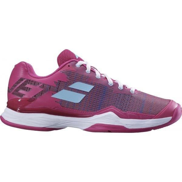 Růžová dámská tenisová obuv Babolat
