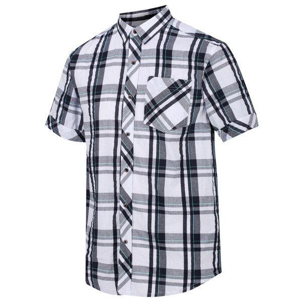 Bílá pánská košile s krátkým rukávem Regatta - velikost M