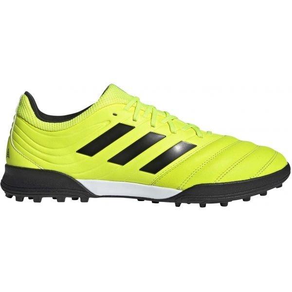 Žluté pánské kopačky turfy Adidas - velikost 44 EU