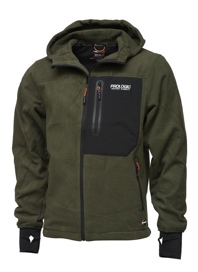 Zelená rybářská bunda ProLogic - velikost M