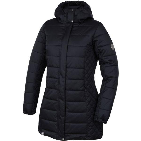Černý dámský kabát Hannah