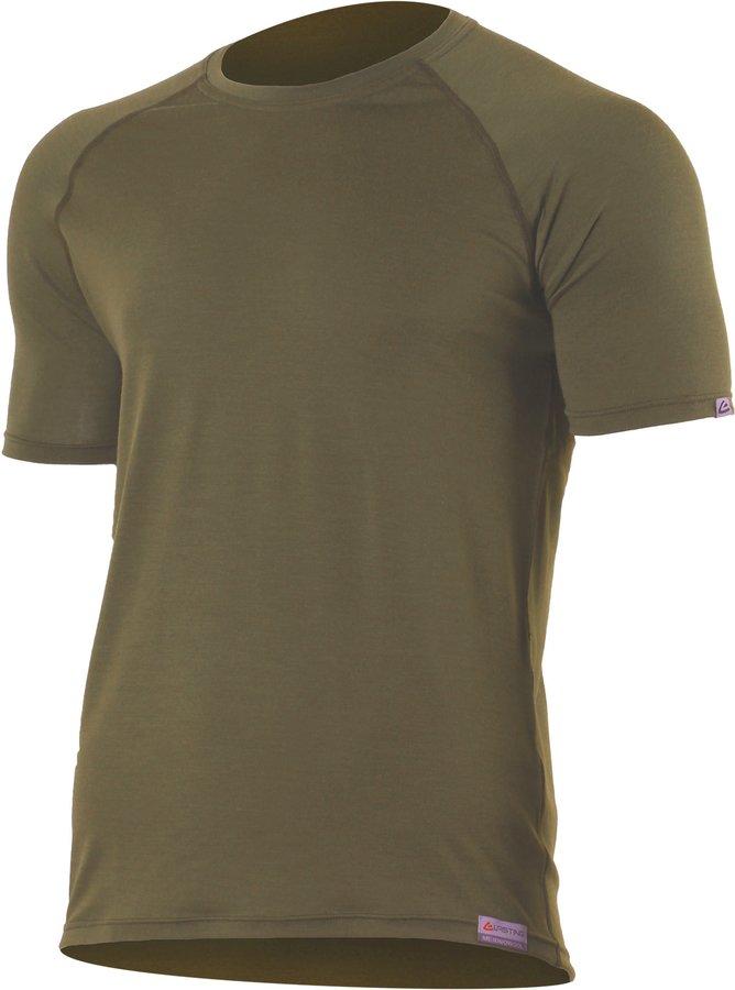 Zelené pánské tričko s krátkým rukávem Lasting - velikost XXL
