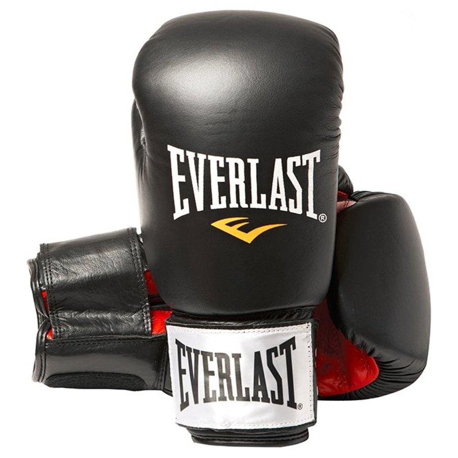 Černo-červené boxerské rukavice Everlast