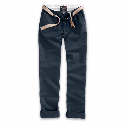 Kalhoty - doprodej Kalhoty dámské XYLONTUM CHINO ČERNÉ