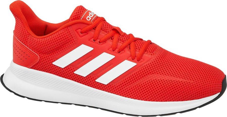 Červené pánské tenisky Adidas - velikost 40 2/3 EU