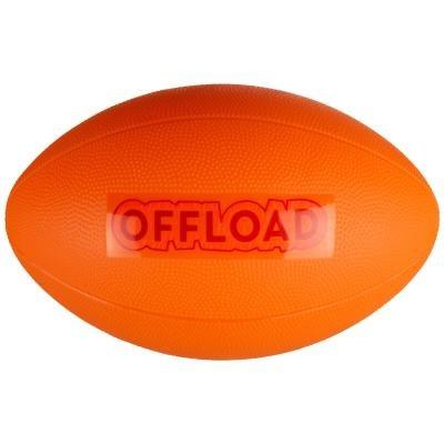 Oranžový míč na ragby Resist Mini, Offload - velikost 1