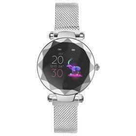 Stříbrné chytré hodinky SW12, IMMAX
