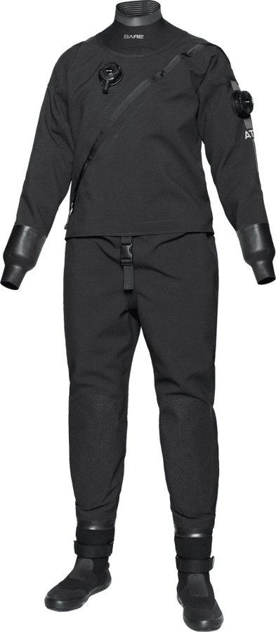 Černý dámský suchý oblek Bare