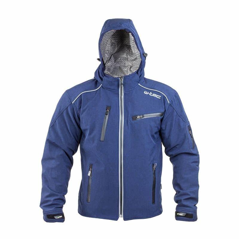 Modrá pánská motorkářská bunda Tomwald NF-2700, W-TEC - velikost 4XL