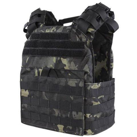 Taktická vesta - Vesta lehká CYCLONE MOLLE nosič plátů MULTICAM BLACK® + Dárek ZDARMA