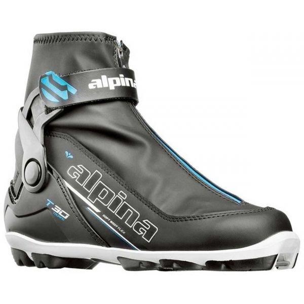 Černé dámské boty na běžky Alpina