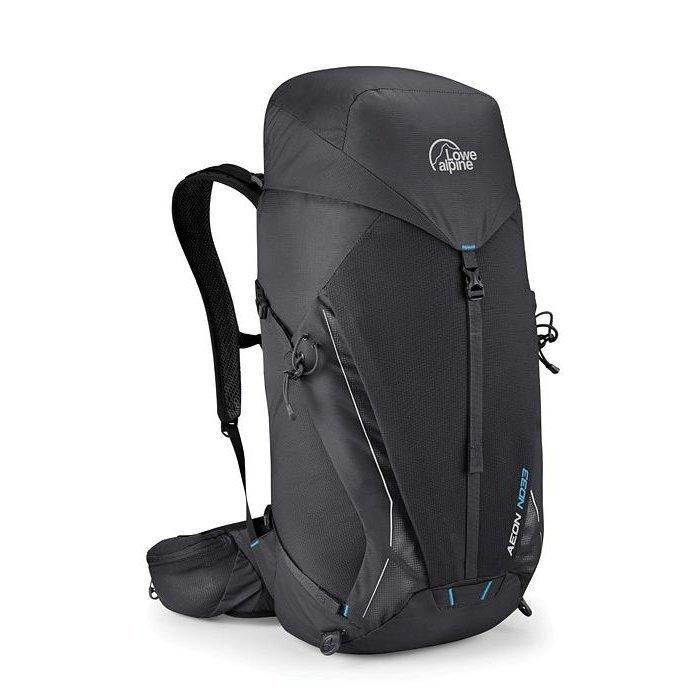 Černý turistický batoh Lowe Alpine - objem 33 l