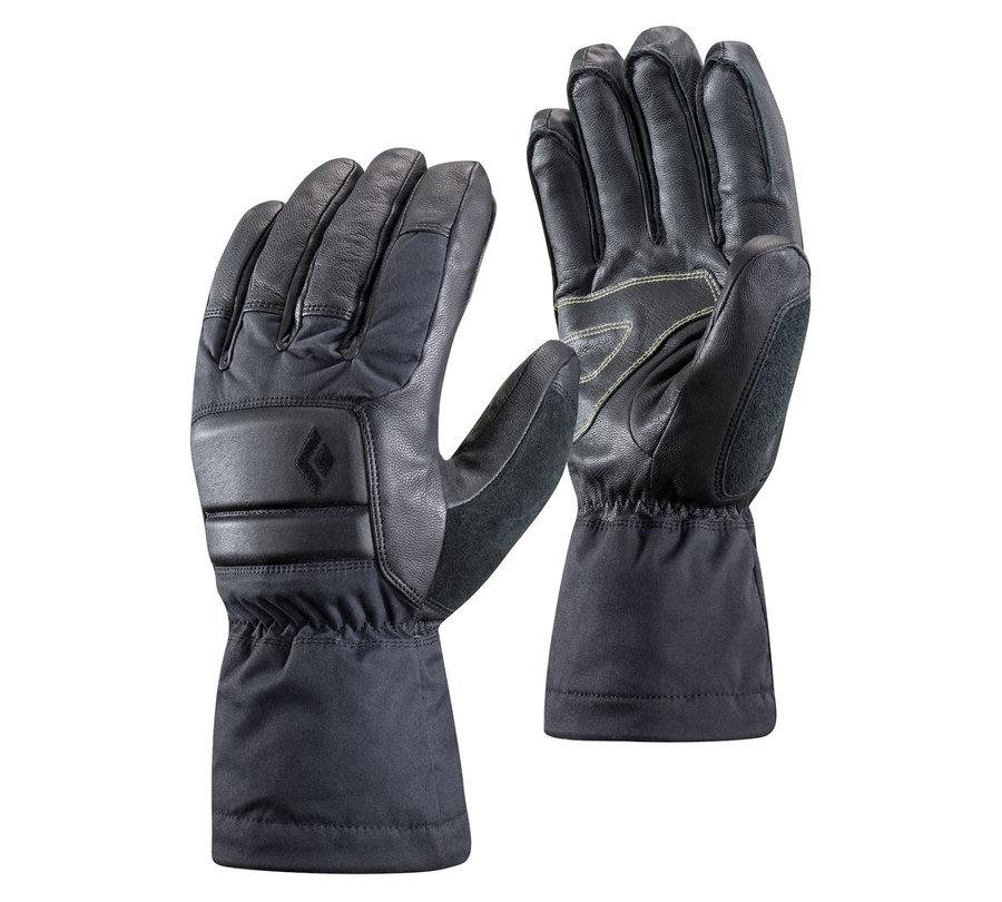 Šedé dámské zimní rukavice Black Diamond