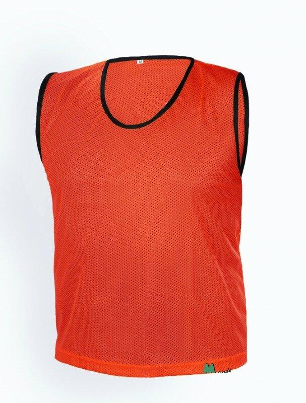 Červený rozlišovací dres Mtrade - velikost XXS