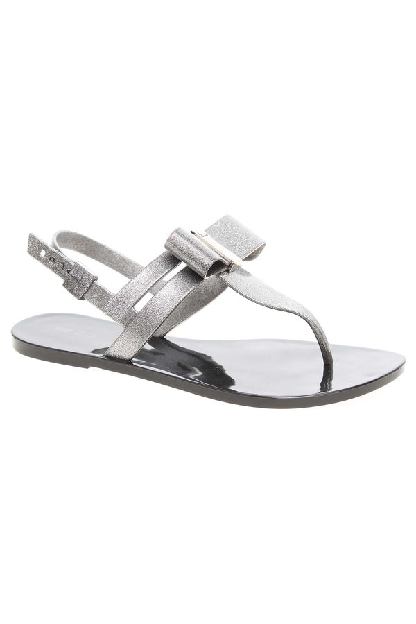 Černé sandály Zaxy