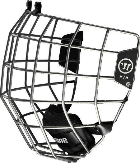 Stříbrná hokejová mřížka Warrior
