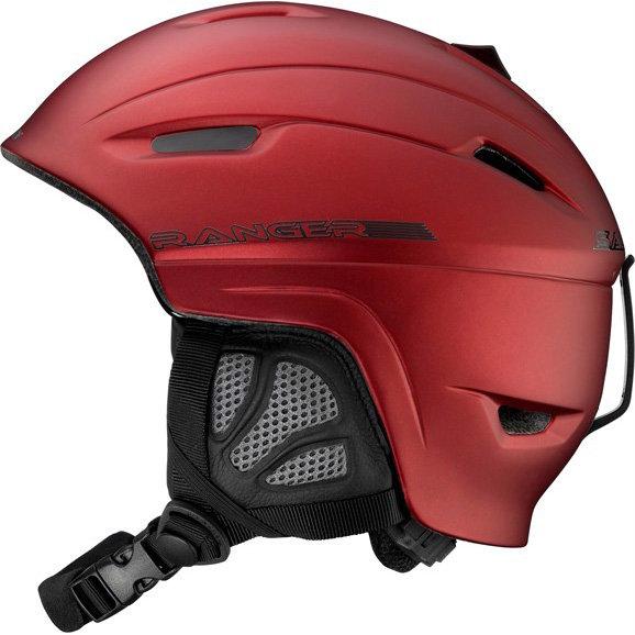 Bílá lyžařská helma Salomon - velikost 54-56 cm