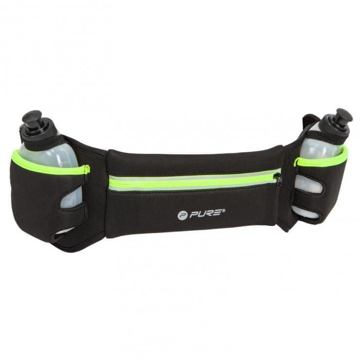 Ledvinka - Pure2Improve P2I Běžecký reflexní pásek s láhvemi