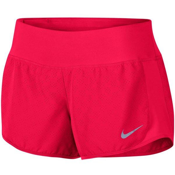 Růžové dámské běžecké kraťasy Nike