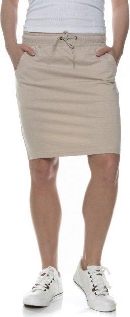 Béžová dámská sukně Sam 73 - velikost XXS