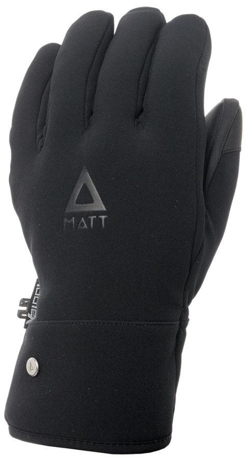 Černé dámské zimní rukavice Matt