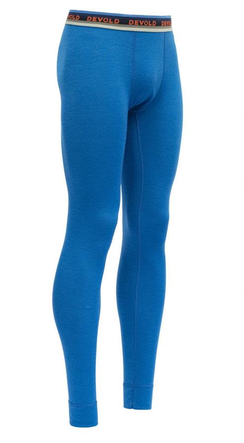 Modré pánské funkční kalhoty Devold
