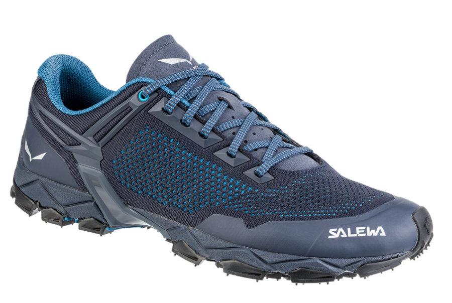 Modré pánské běžecké boty Salewa