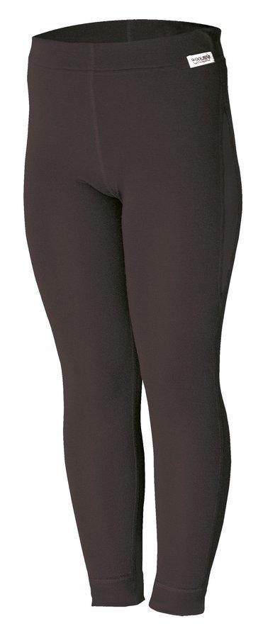 Černé dětské funkční kalhoty Lasting - velikost 140