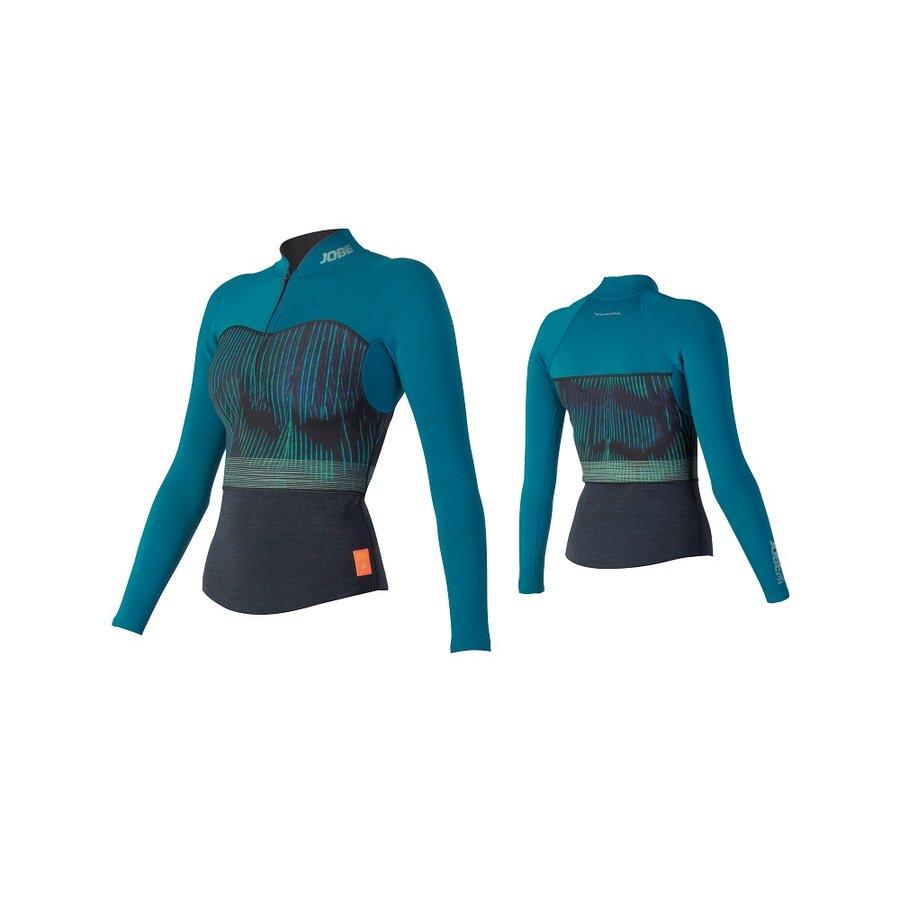 Modré dámské neoprenové tričko Jobe - velikost S