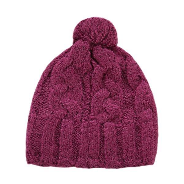 Růžová dámská zimní čepice Alpine Pro - velikost L