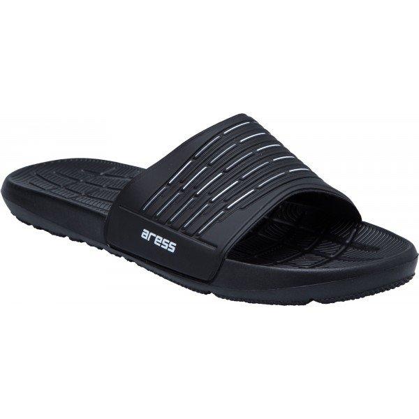 Černé pánské pantofle Aress - velikost 46 EU