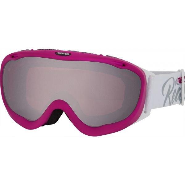 Bílé dámské brýle na snowboard Reaper