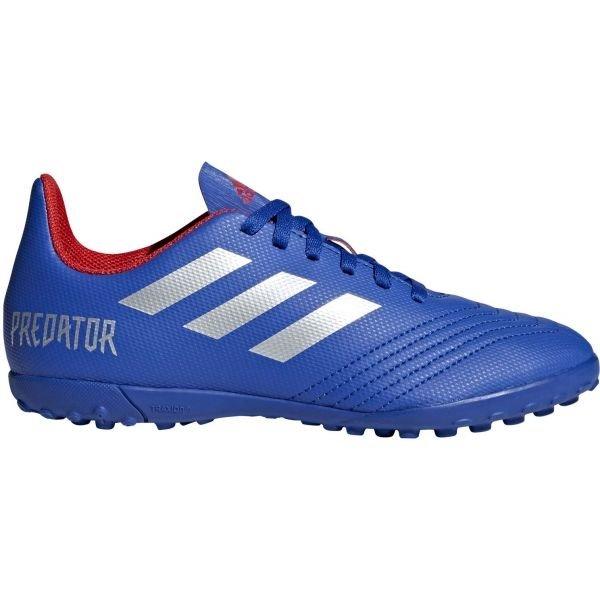 Modré dětské kopačky turfy Adidas - velikost 37 1/3 EU