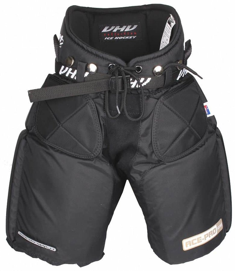 Červené dětské brankářské hokejové kalhoty Opus - velikost M
