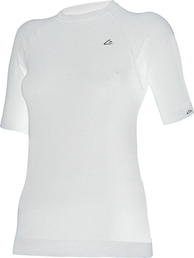 Bílé dámské termo tričko s krátkým rukávem Lasting - velikost 3XL