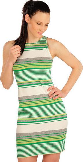 Zelené dámské šaty Litex