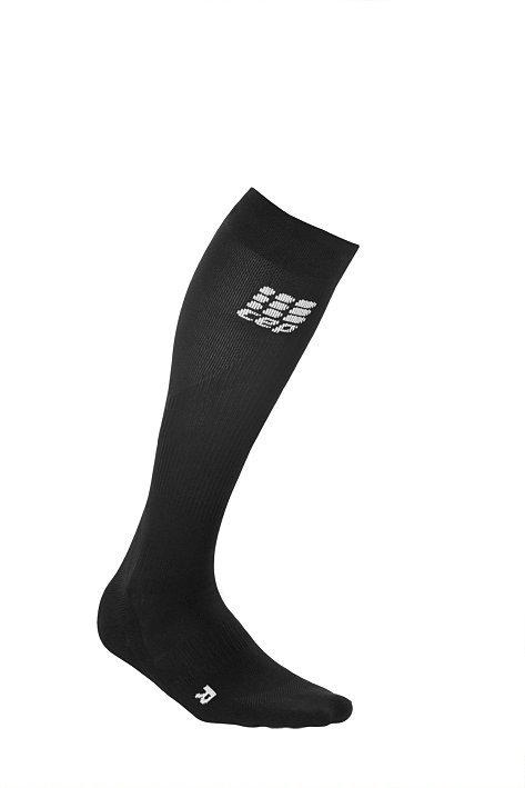 Černé vysoké běžecké ponožky CEP - univerzální velikost