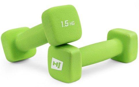 Jednoruční činka Hop-Sport - 1,5 kg - 2 ks